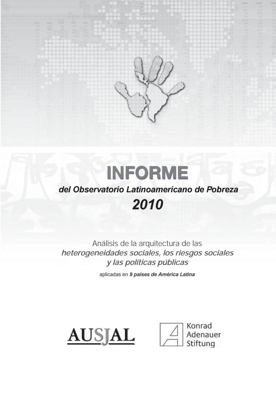 Observatorio de la pobreza def by Asociación de Universidades ...