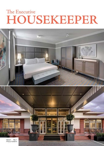 The Executive Housekeeper Volume 21 No 1 By Adbourne