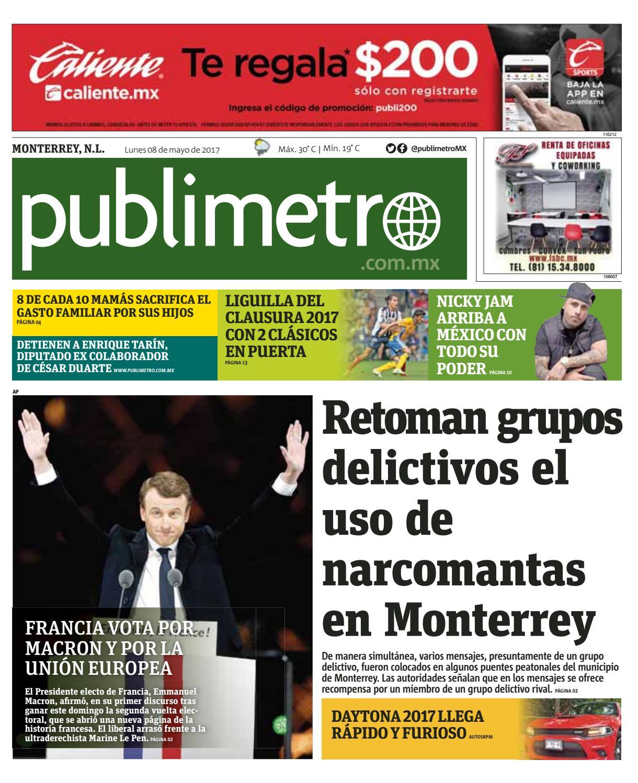 20170508_mx_monterrey by Publimetro Mexico - issuu