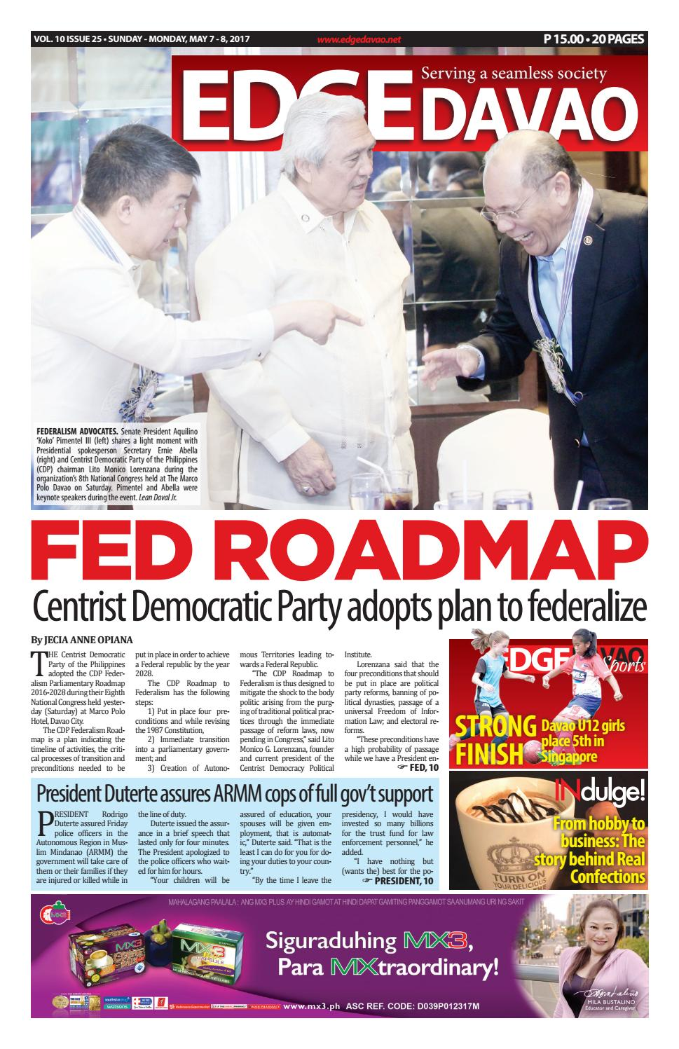 Edge Davao 10 Issue 25 By The Business Paper Issuu Bosing Bulat