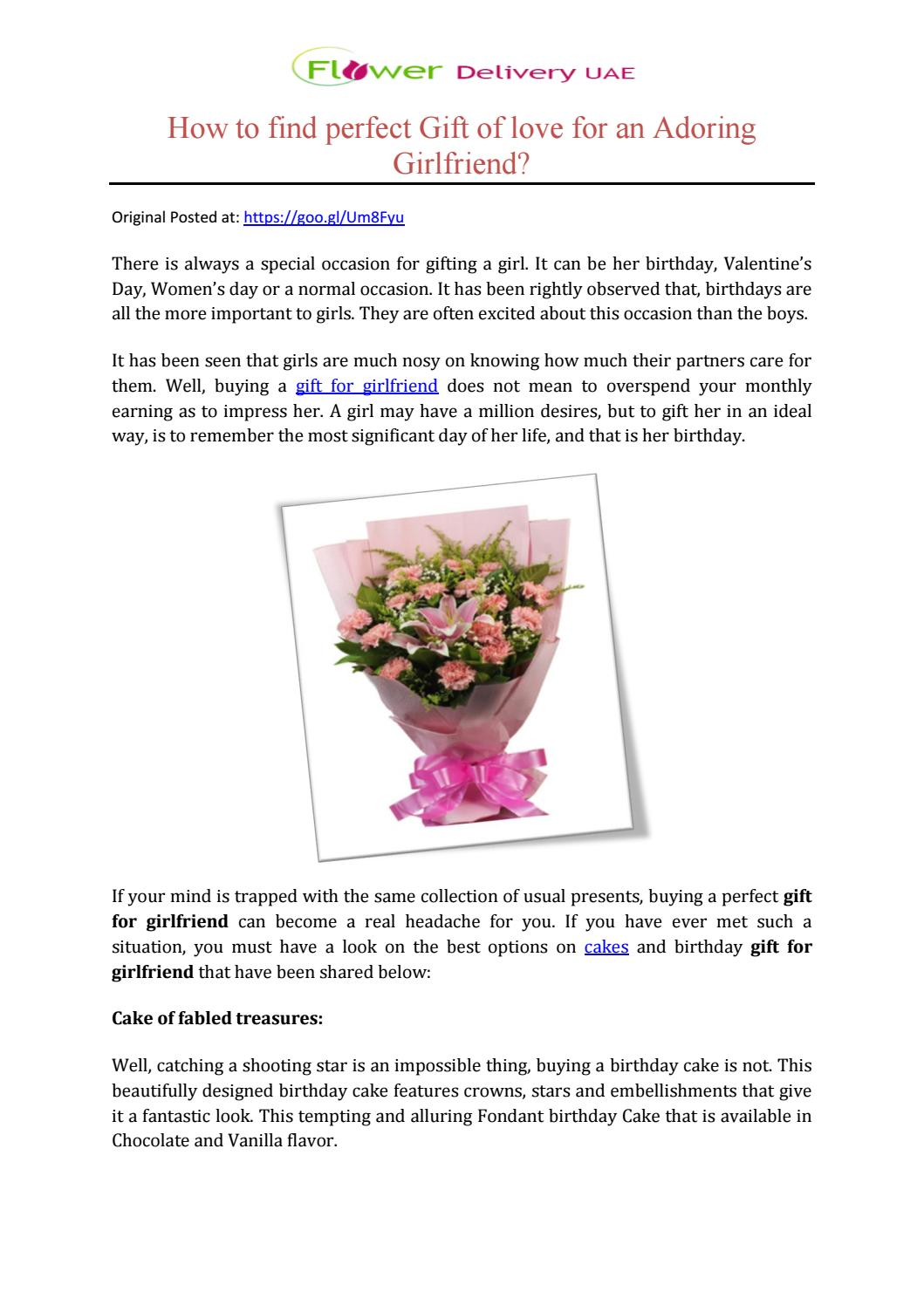 How to find perfect gift of love for an adoring girlfriend by how to find perfect gift of love for an adoring girlfriend by flower delivery uae issuu izmirmasajfo Image collections