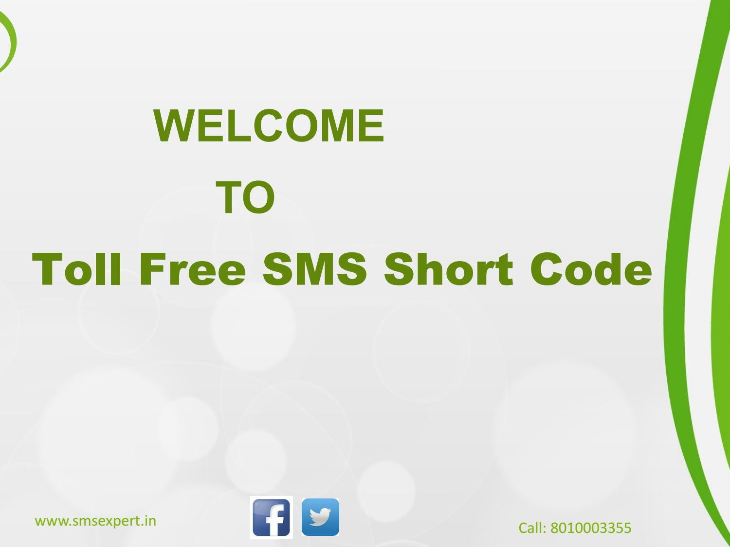 Toll free sms short code by anubhavgupta - issuu