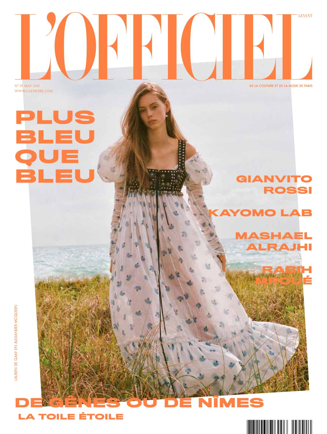 L Officiel-Levant, May Issue 75 by L Officiel Levant - issuu 49dd8e404f02