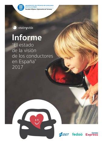 aca521bd08 Informe Estado de la Visión de los conductores en España 2017 by ...