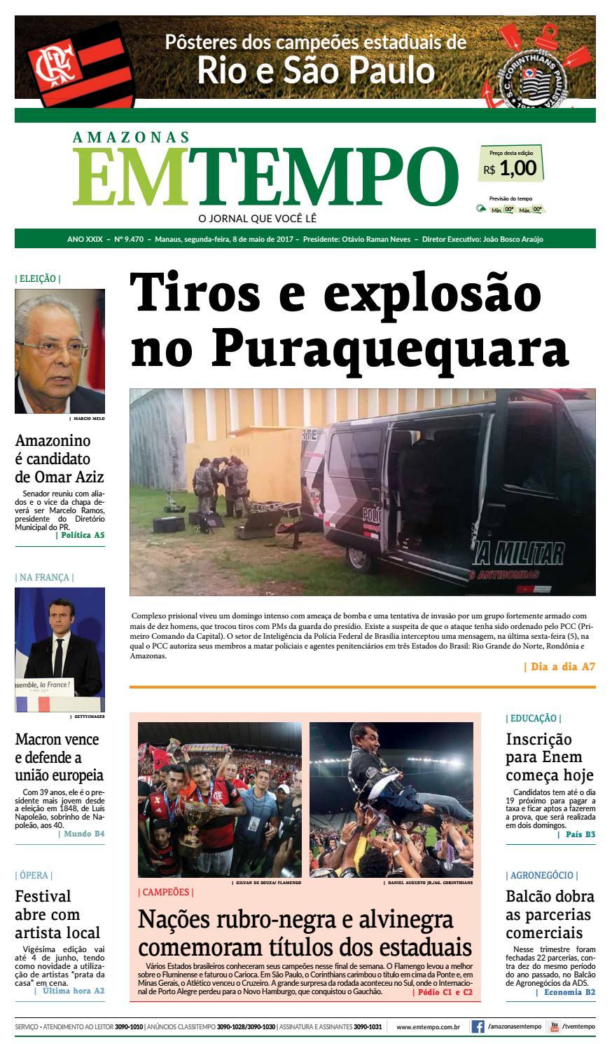 EM TEMPO - 8 de maio de 2017 by Amazonas Em Tempo - issuu c1069fca813