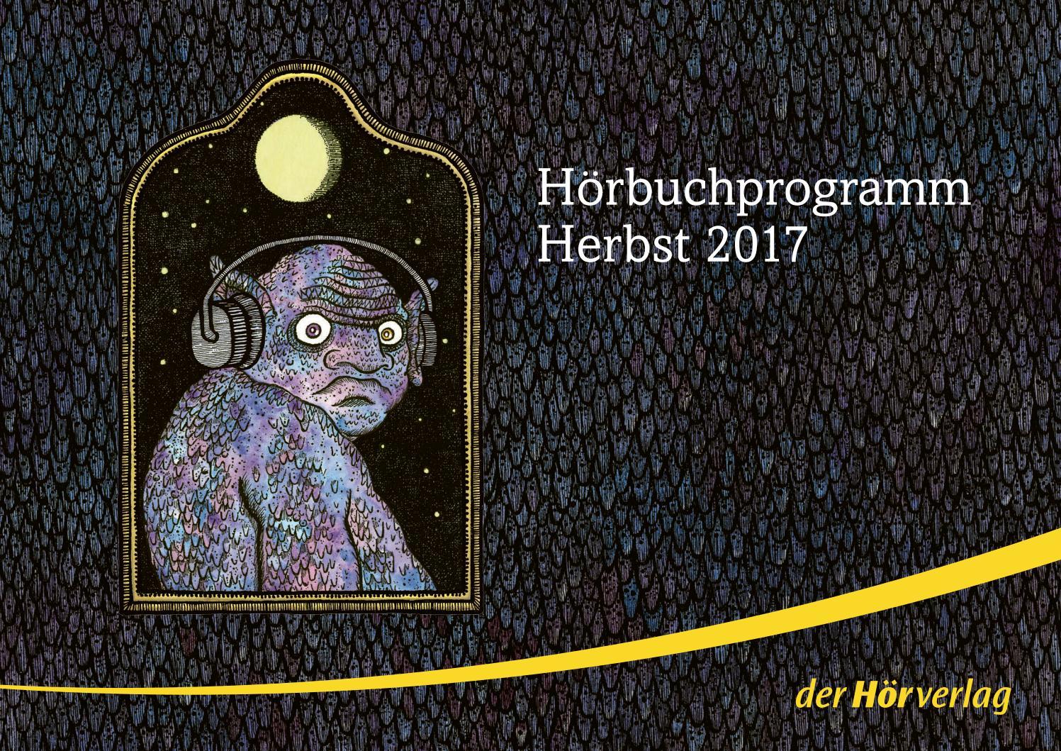 Der Hörverlag Vorschau Herbst 2017 By Verlagsgruppe Random