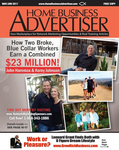 Home business advertiser magazine may june 2017 by home business page 1 fandeluxe Gallery