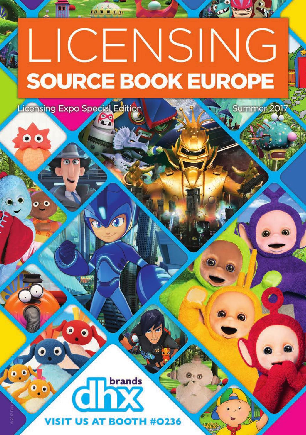 Licensing Source Book Europe Summer Vegas 2017 By Max Media