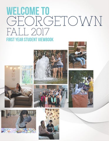 georgetown 2017 first year viewbook by residential living