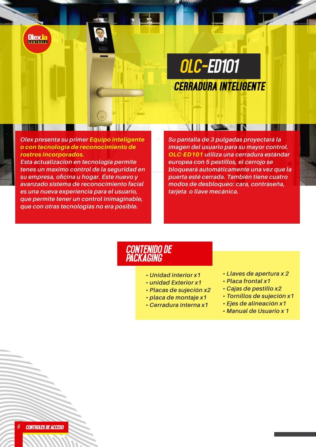 Catálogo Olex controls 2017 by Olex la / Visionxip - issuu