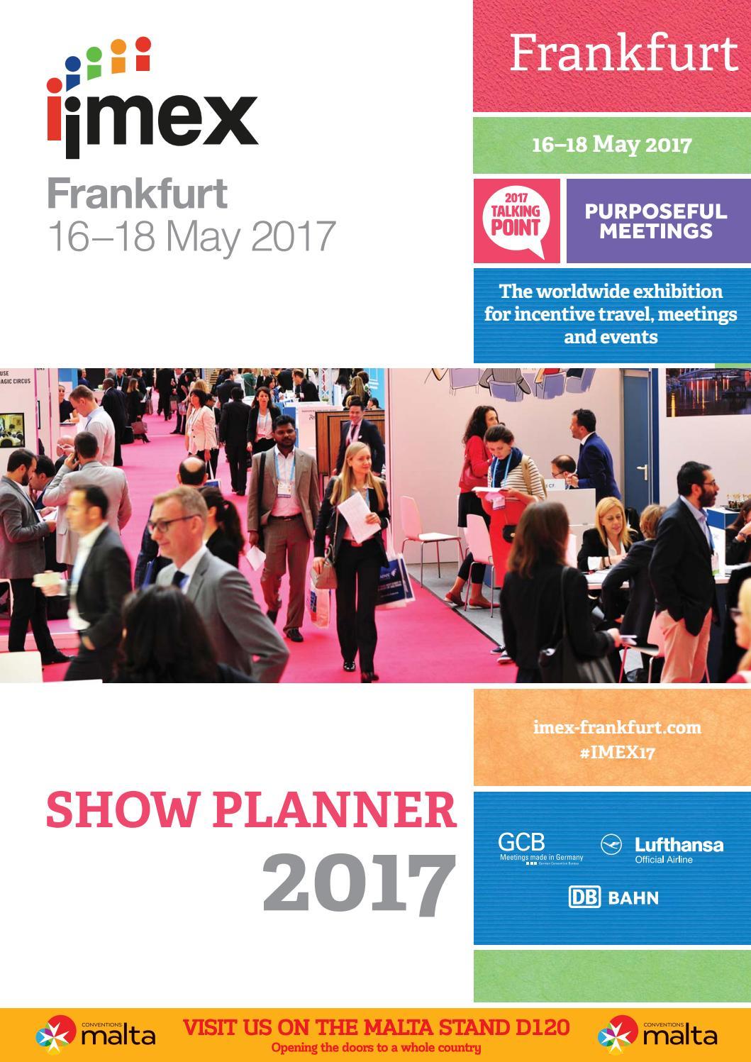 Imex Show Planner 2017 by Upper Street Media - issuu