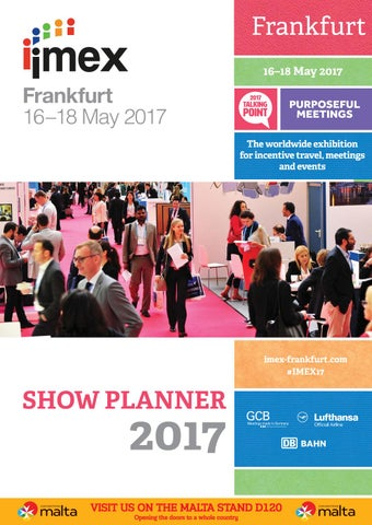Imex Show Planner 2017 by Upper Street Media - issuu