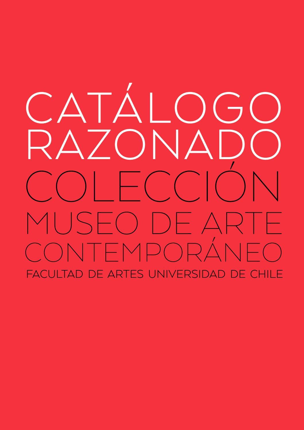 1 de 2. Catálogo Razonado - Colección Museo de Arte Contemporáneo by ...