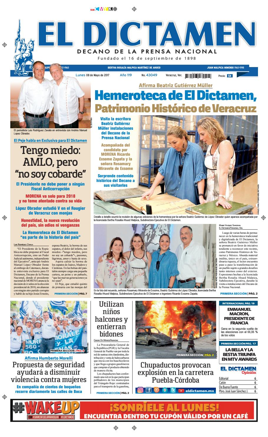 7f2ab61f El Dictamen 08 de Mayo 2017 by El Dictamen - issuu