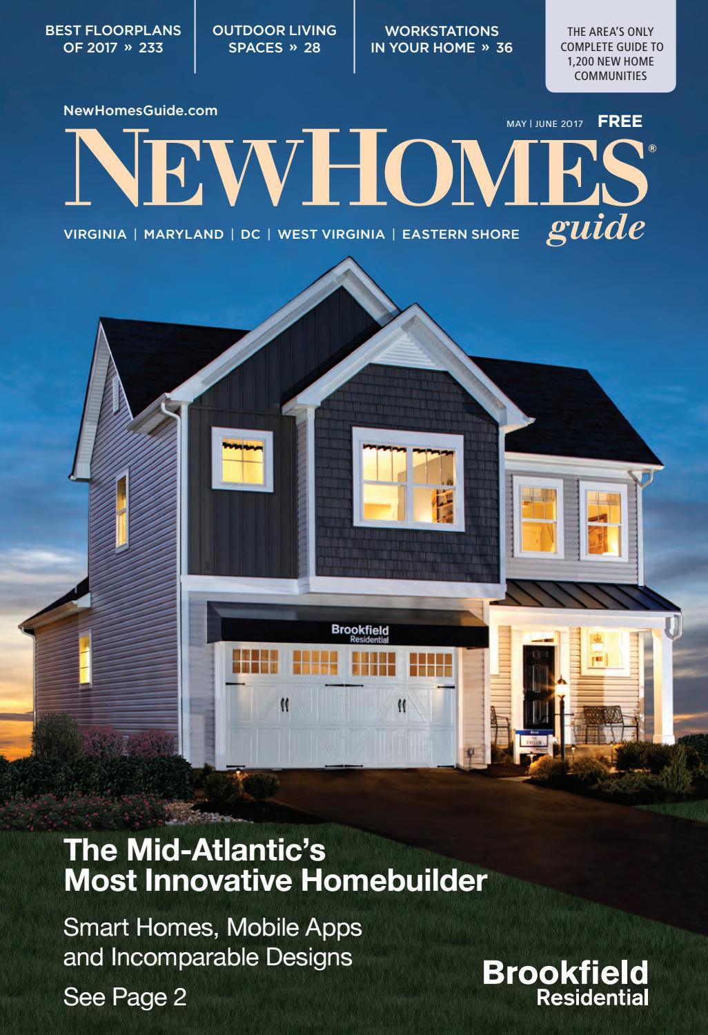 Dc new homes guide may june 2017 by dc new homes guide issuu for Home builders guide