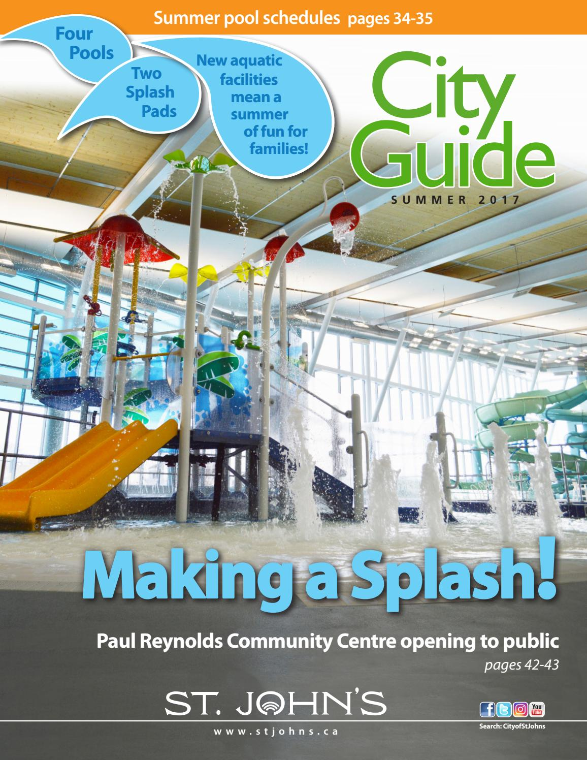 killarney community centre summer guide
