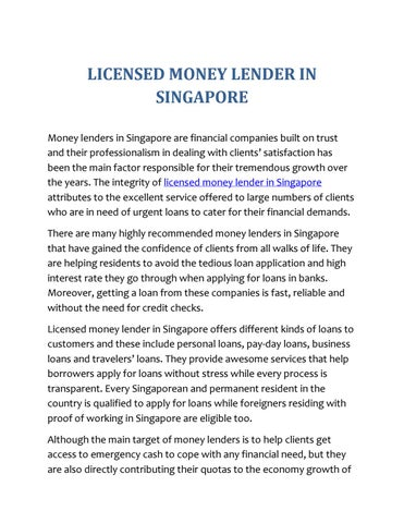 Money matters loans claremont photo 1