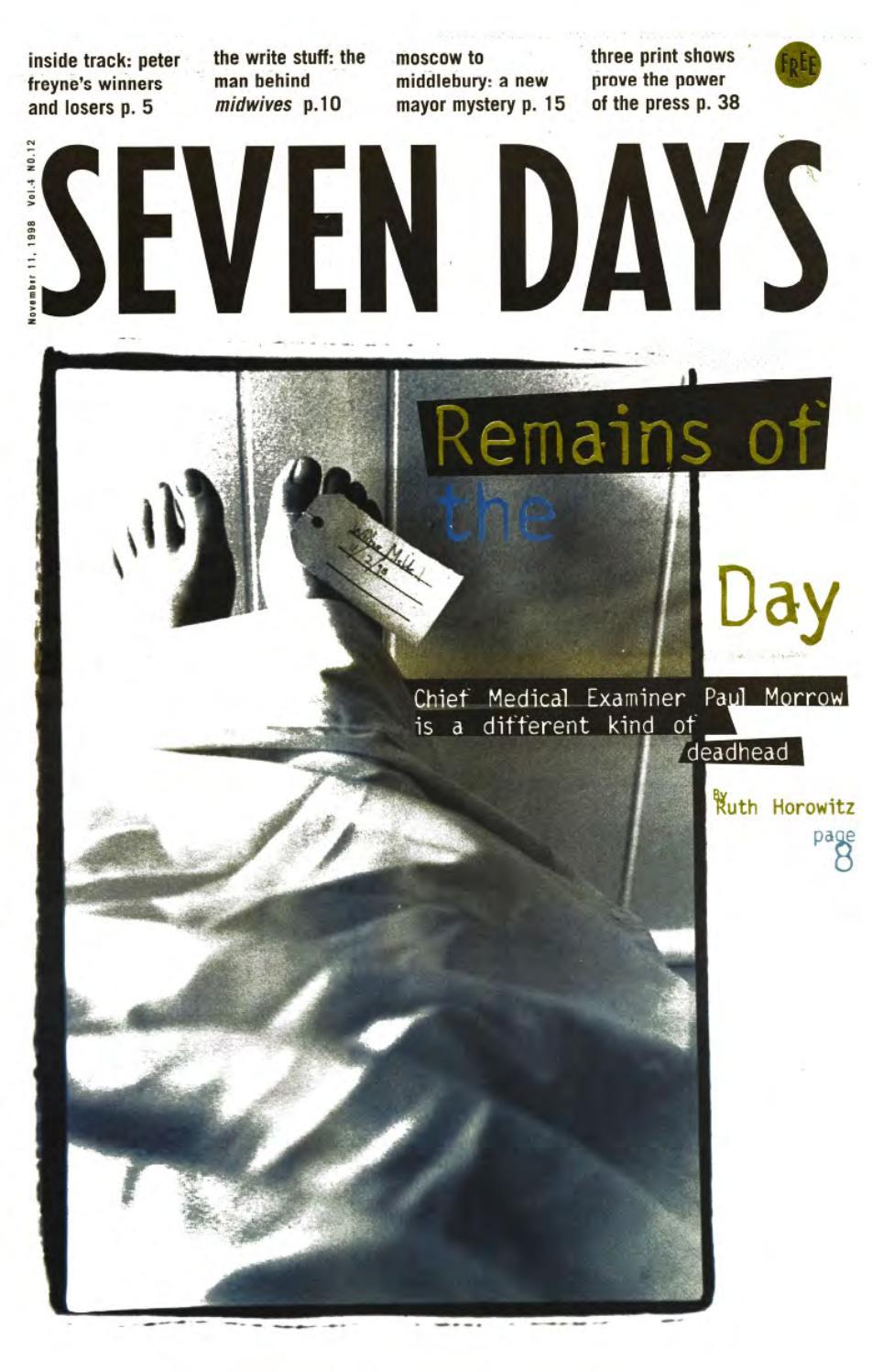 Seven Days, November 11, ...