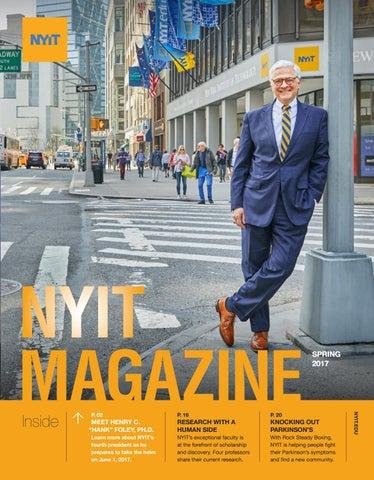 NYIT Magazine Spring 2017 by NYIT Magazine - issuu