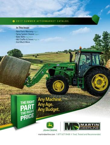 Martin Deerline Summer Aftermarket Catalog 2017 by MMD Sales