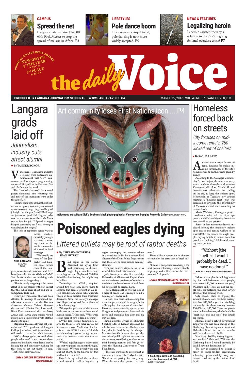Voice 03 29 17 by Langara Journalism - issuu