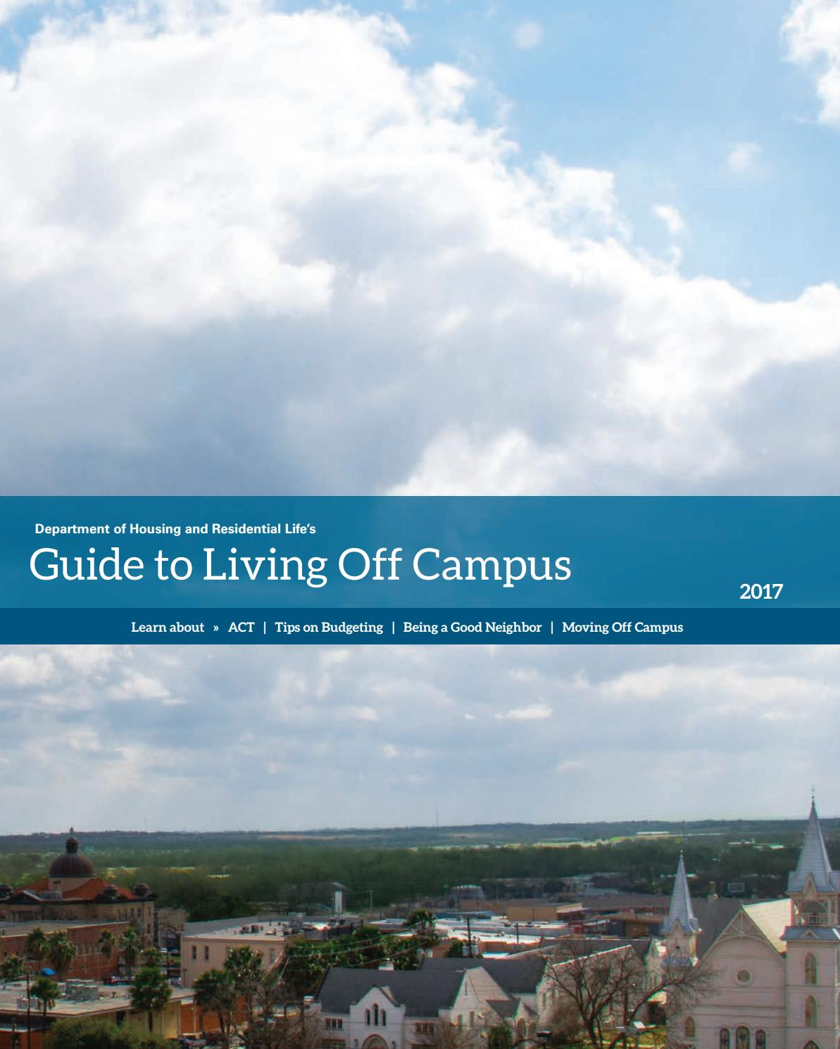 Surprising Guide To Living Off Campus By Texas State Dhrl Issuu Download Free Architecture Designs Photstoregrimeyleaguecom