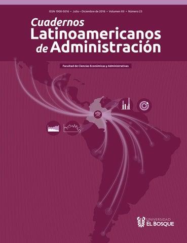 Revista cuadernos latinoamericanos de administracin by universidad page 1 fandeluxe Gallery