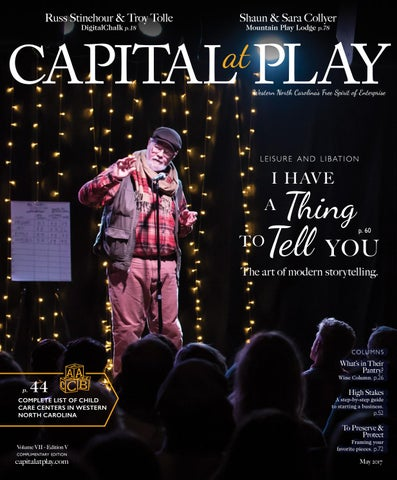 Capital At Play May 2017 By Capital At Play Magazine Issuu