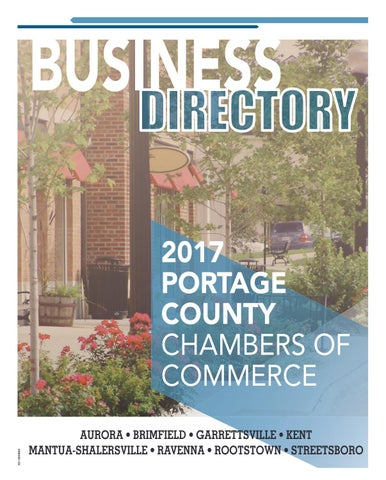 Portage County Chambers Of Commerce Business Directory 2017