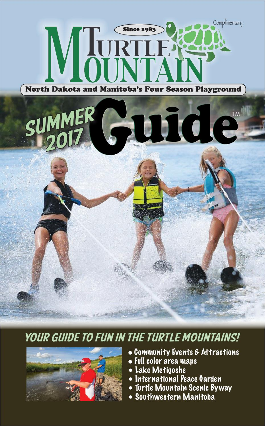 turtle mountain guide summer 2017 by ndrecreationguides