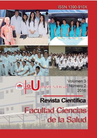 Revista La U INVESTIGA Vol.3 No.2 by Editorial Universidad Técnica ...