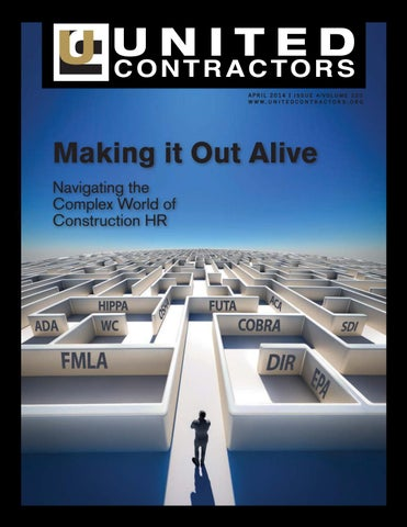 United Contractors Magazine April 2014 by United Contractors - issuu
