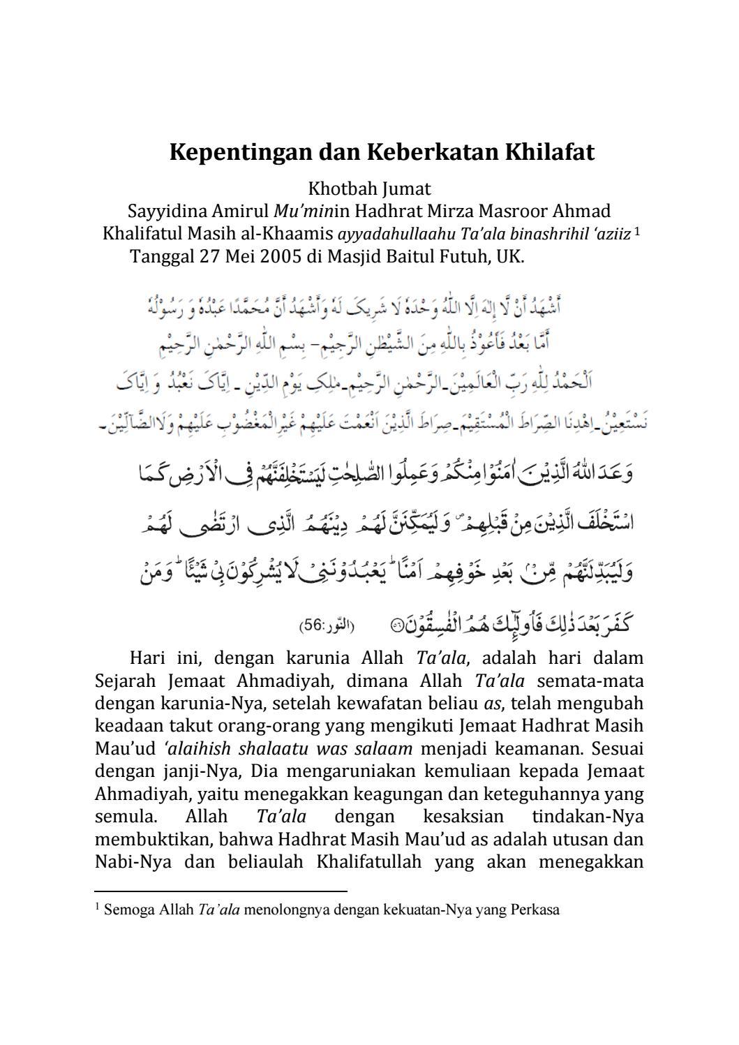 mei-27-2005 by ahmadiyah - Issuu