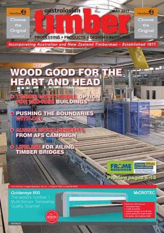 Australasian Timber - May 2017 by provincial press group - issuu