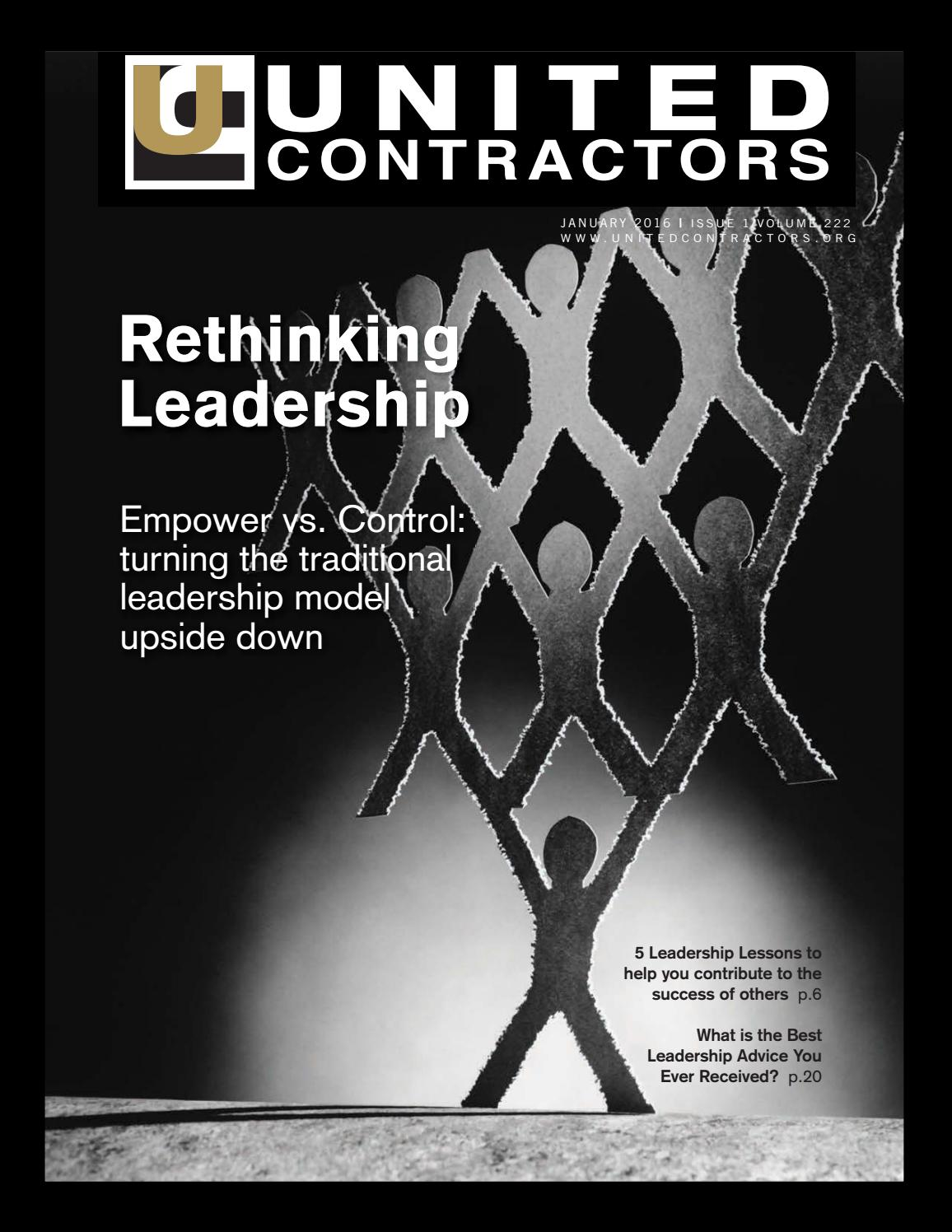 United Contractors Magazine January 2016 by United