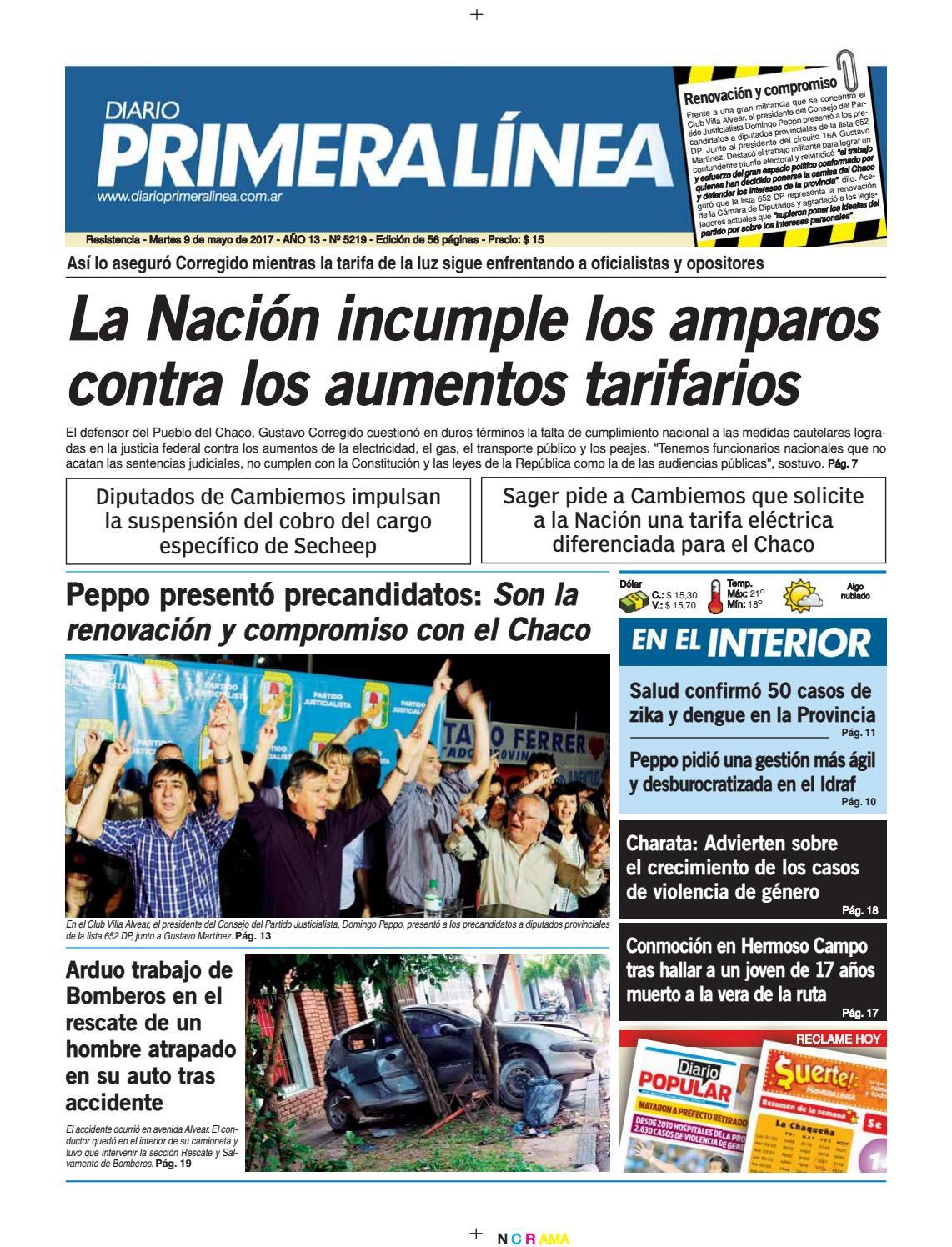 Primera L Nea 5226 16 05 17 By Diario Primera Linea Issuu # Muebles Goitia Tijuana