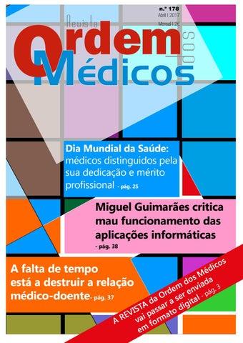 a80ff6977d432 Revista Ordem dos Médicos Nº178 Abril 2017 by Ordem Dos Médicos - issuu