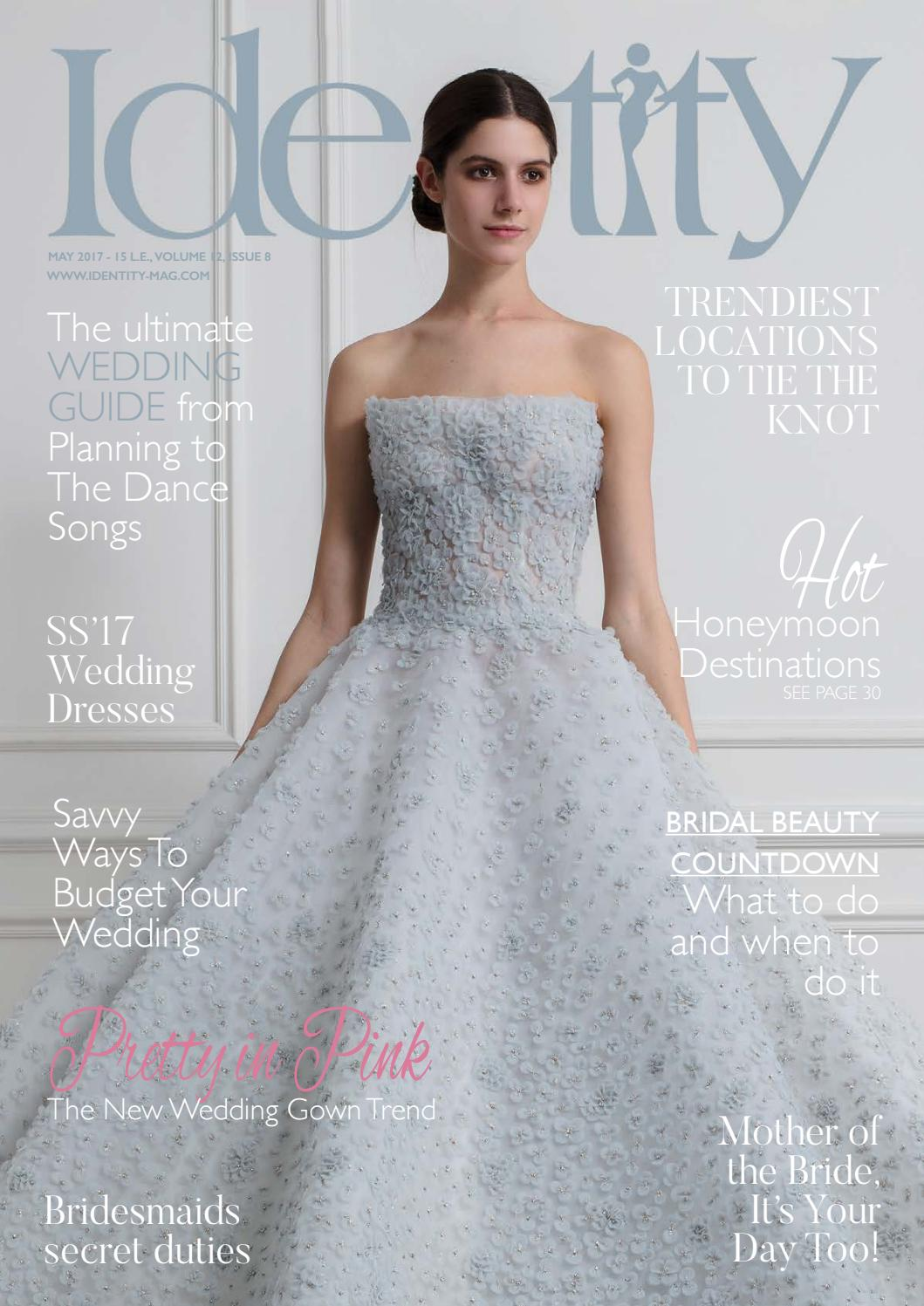 Pretty in Pink - The New Wedding Gown Trend by Identity Magazine - issuu