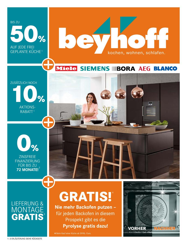 m bel beyhoff k chen angebotsprospekt by m bel beyhoff. Black Bedroom Furniture Sets. Home Design Ideas