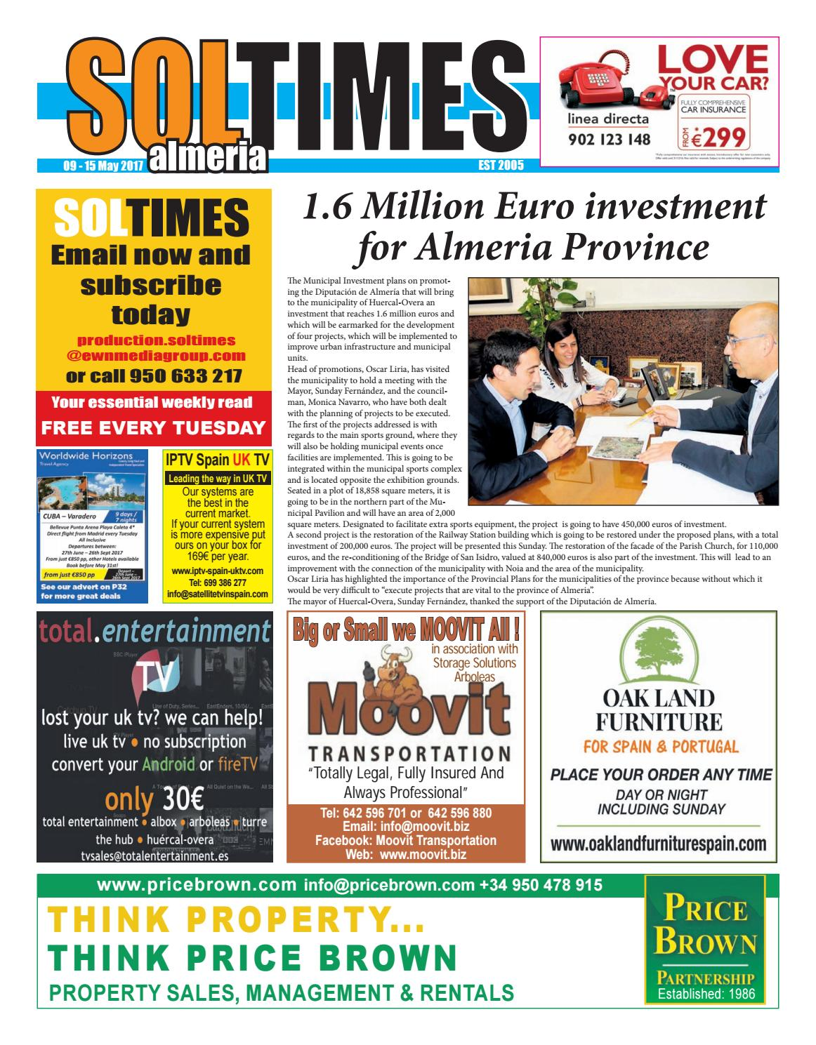Soltimes Almeria – Issue 585 by Sol Times - issuu