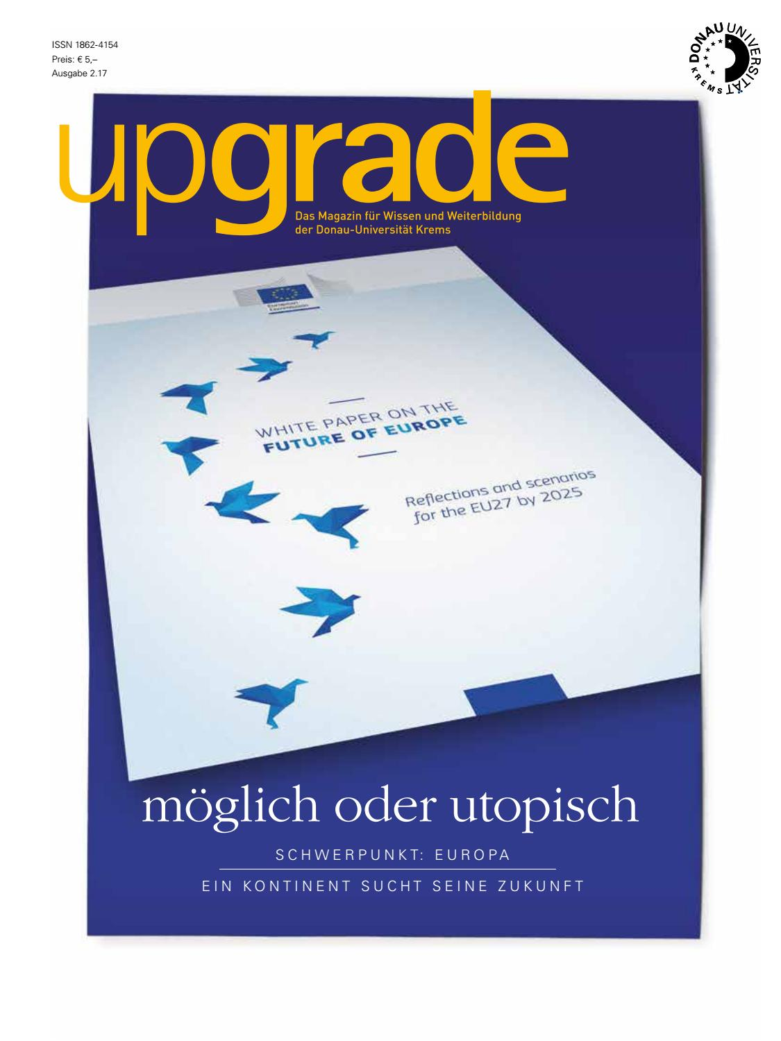 upgrade 2.17 by Donau-Universität Krems - issuu