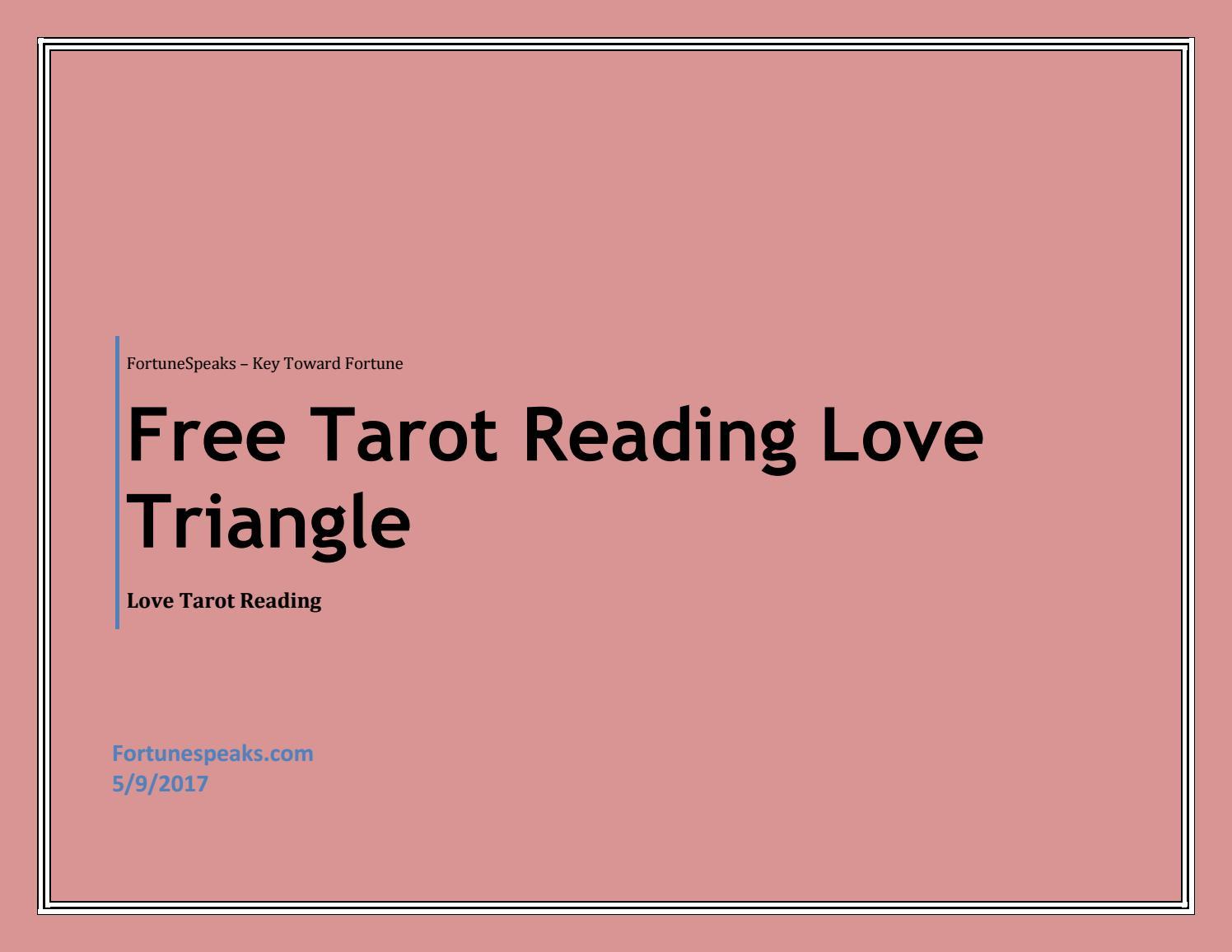 Love find free i tarot will Free Love