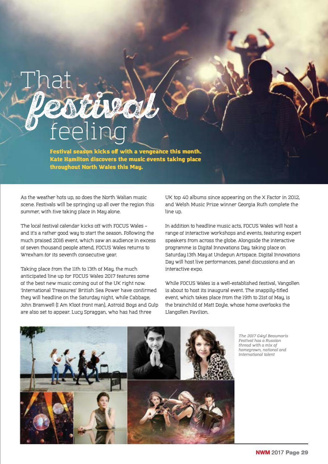 North Wales Magazine – May 2017 by North Wales Magazine - issuu