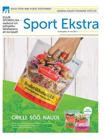 a54b6aa36e4 Sport Ekstra mai 2017 by SL Õhtuleht AS - issuu