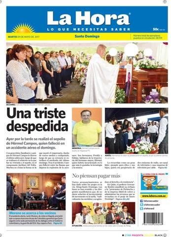 4cd3db2170 Websantodomingo09mayo2017 by Diario La Hora Ecuador - issuu