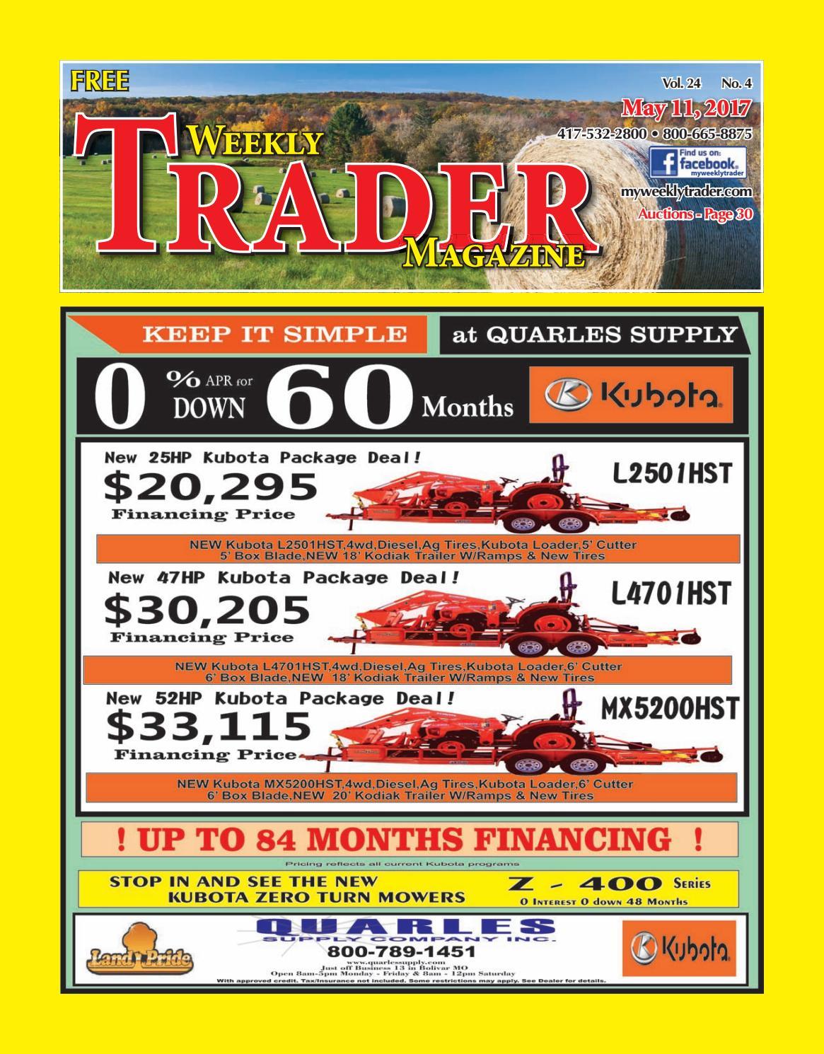 ddde9f06b2 Weekly Trader May 11