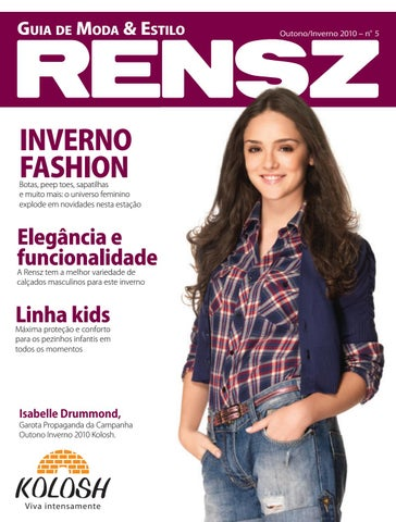 1e57fe680 Revista Rensz Outono/Inverno 2010 by Rensz Calçados - issuu