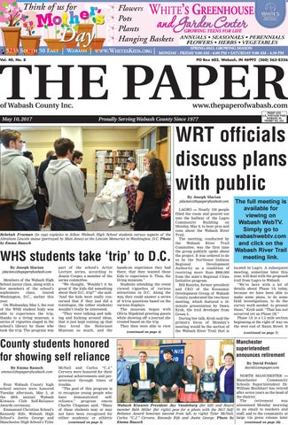 The Paper of Wabash County - May 10, 2017, Issue by The Paper of ...