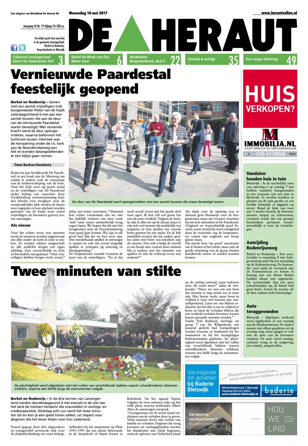 d1c011aa3fd Heraut week 19 2017 by Nieuwsblad De Heraut - issuu