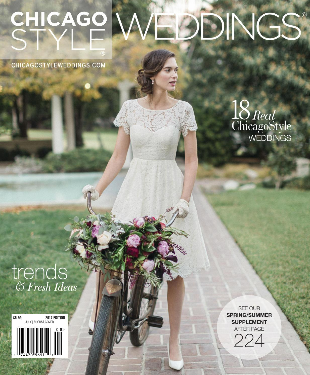 Chicagostyle Weddings 2017 With Spring Summer Supplement By